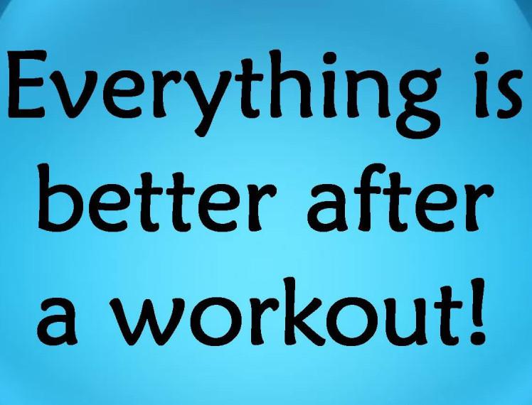 Better After A Workout