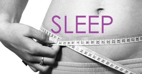 Sleep & Weight Loss