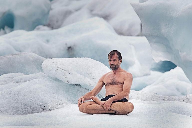 Wim Hof Ice