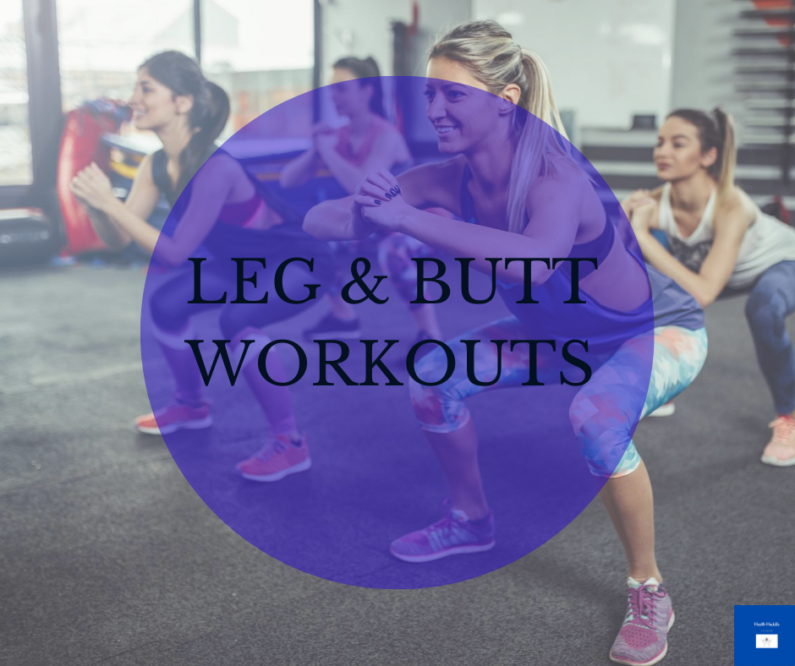 Leg and Butt Workout
