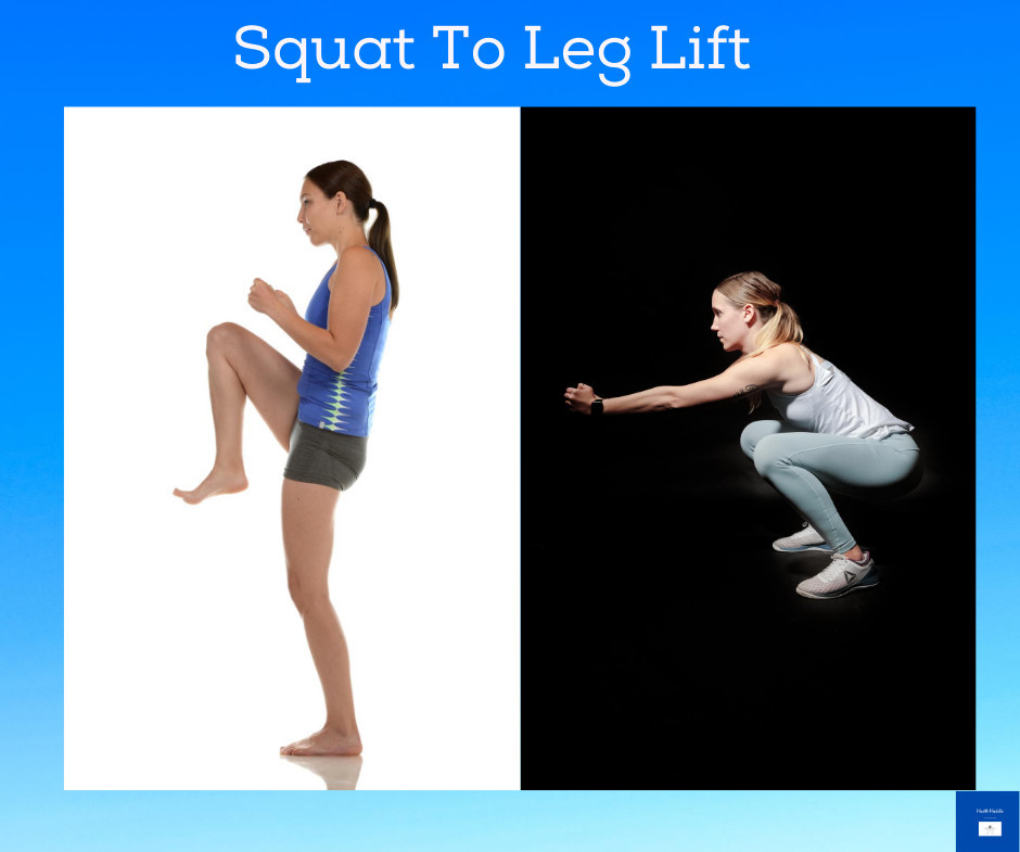 Squat to Leg Lift