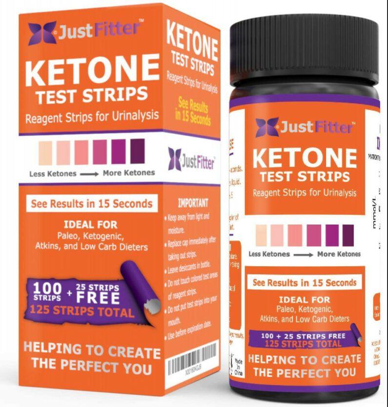 Ketone Keto Urine Strips